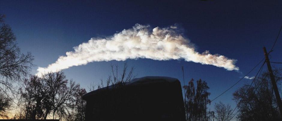 Метеорит в Челябинске