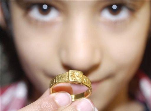 Римское кольцо стало прообразом Кольца Всевластия