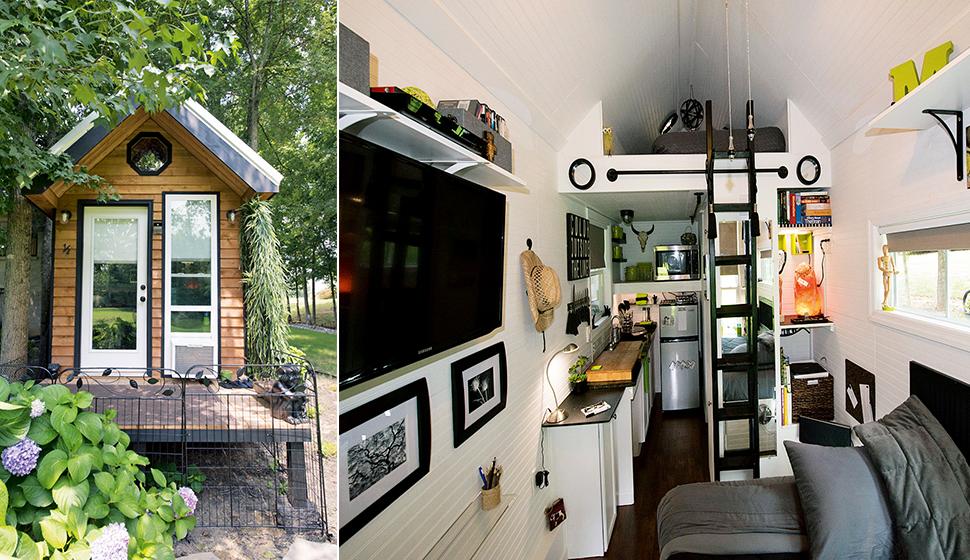 Коробка Мэнди - идеальные апартаменты для жизни подальше от людей