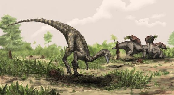 Самый древний динозавр