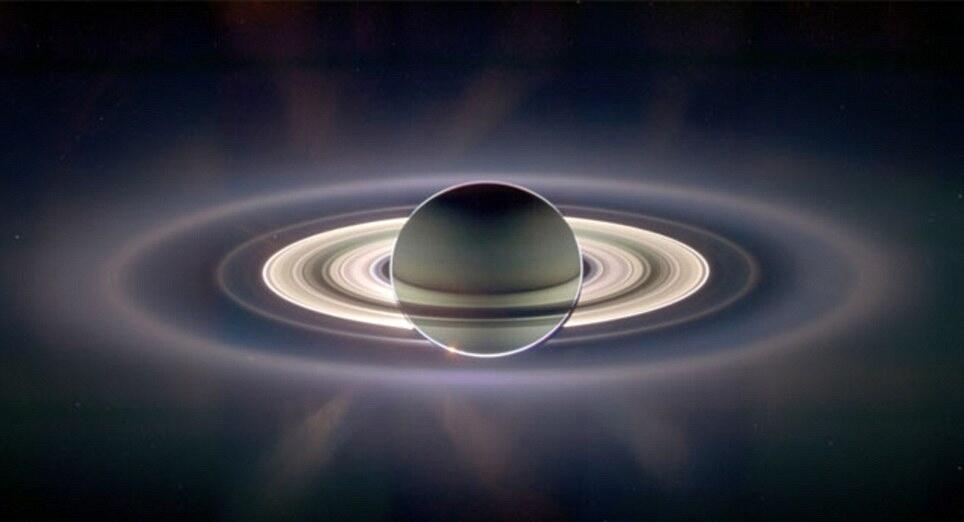 Уникальный снимок Сатурна