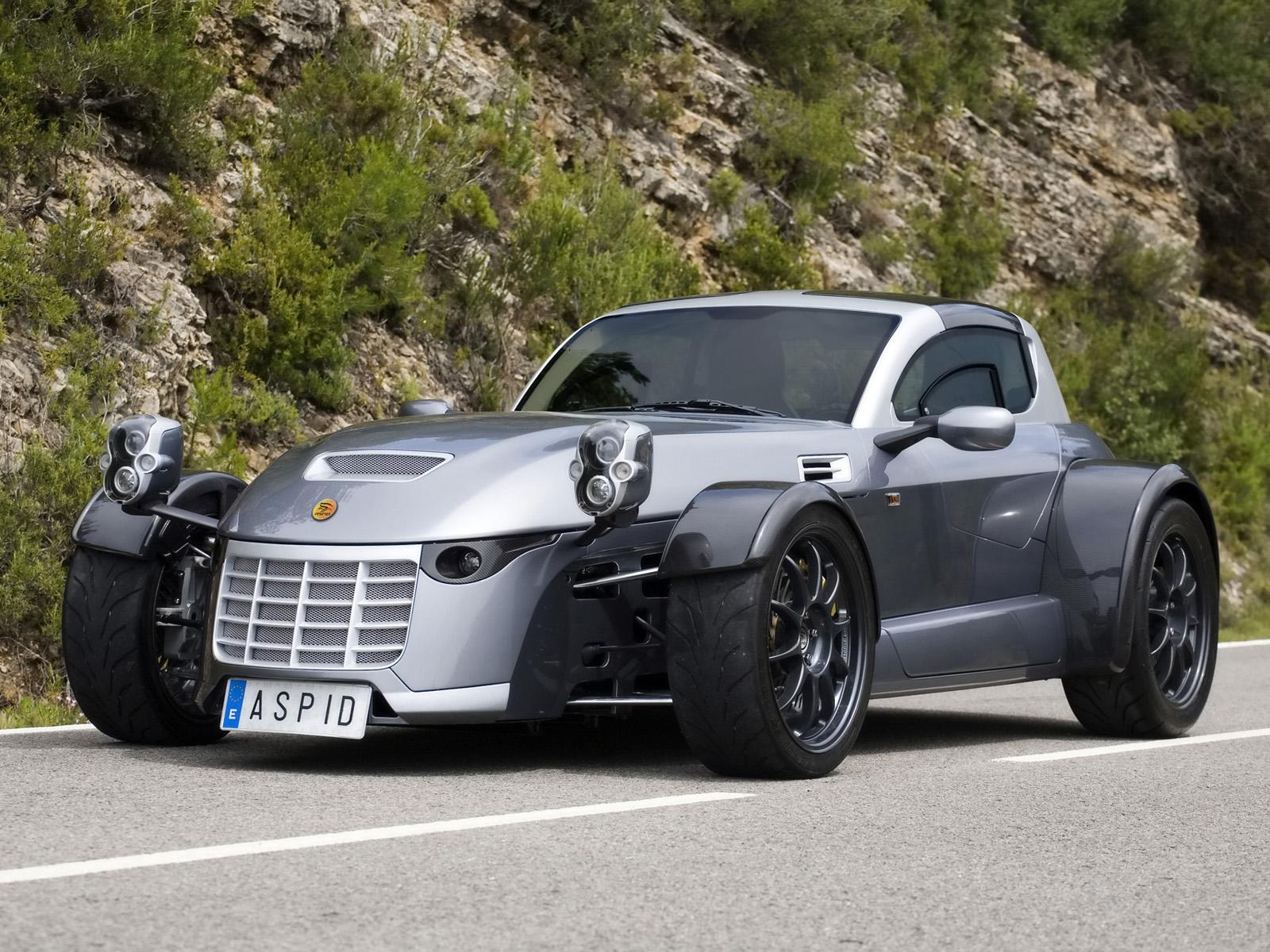 IFR Automotive Aspid оснащен 450-сильным 4,4-литровым V8