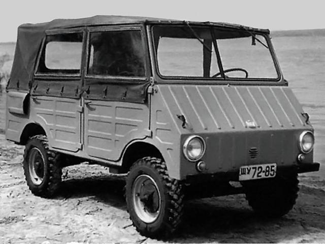 Военный ЗАЗ-971 (1962 год)