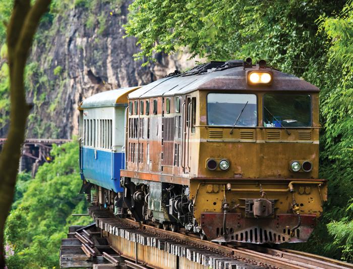 Железная дорога Таиланда построена на человеческих костях