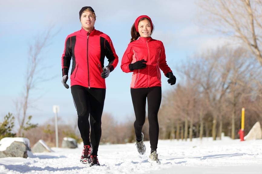 Бегать зимой не только дороже, но и полезнее