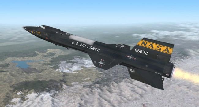 Х-15 - самый быстрый пилотируемый самолет в мире