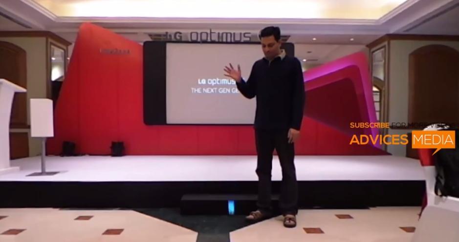 LG Optimus G - тест на прочность