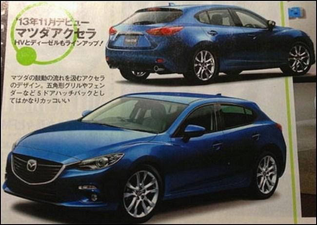 Новая Mazda3 или очередная иллюстрация фанатов?