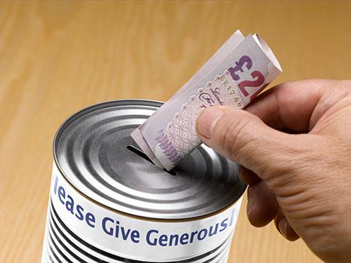 Хочешь почувствовать облегчение - отдавай деньги на пожертву