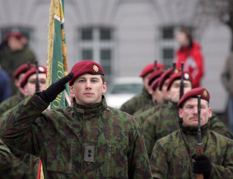 Сегодня литовская армия состоит из профессионалов