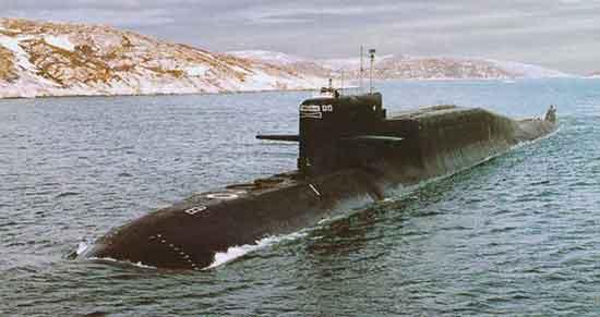 Из-за неправильной погрузки на атомную лодку произошла крупная авария