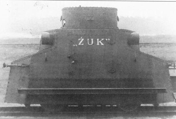 Польский Zuk охотился на диверсантов