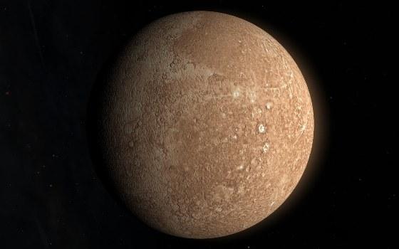 Планета на 14 км меньше в диаметре, чем около 4 млрд лет назад