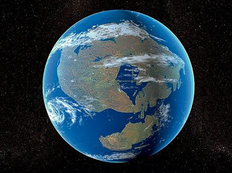 Пангея разделилась на континенты