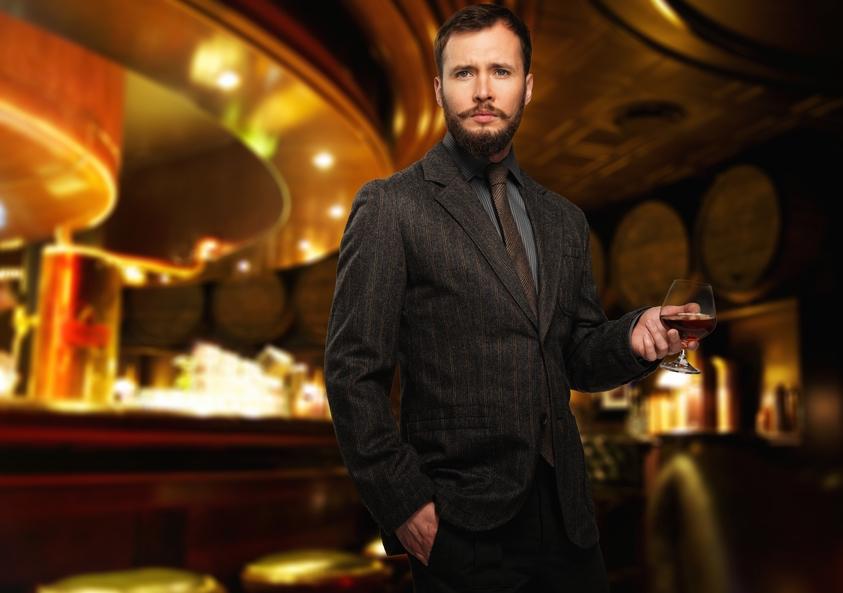 Джентльмены вроде тебя должны выпивать достойный ирландский виски