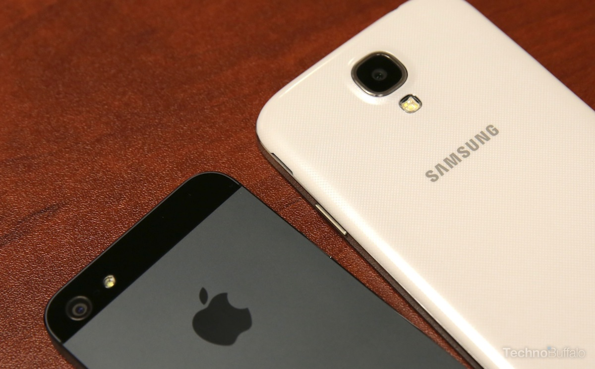 Samsung Galaxy S4 и iPhone 5