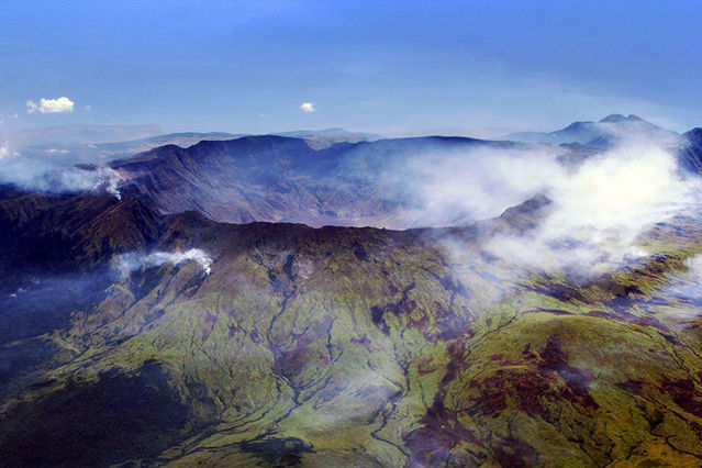 Вулкан лишил Землю лета