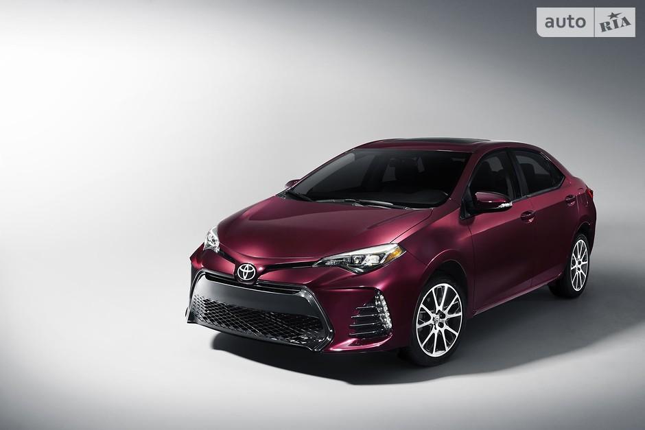 1. Toyota Corolla (995 356 проданных авто)