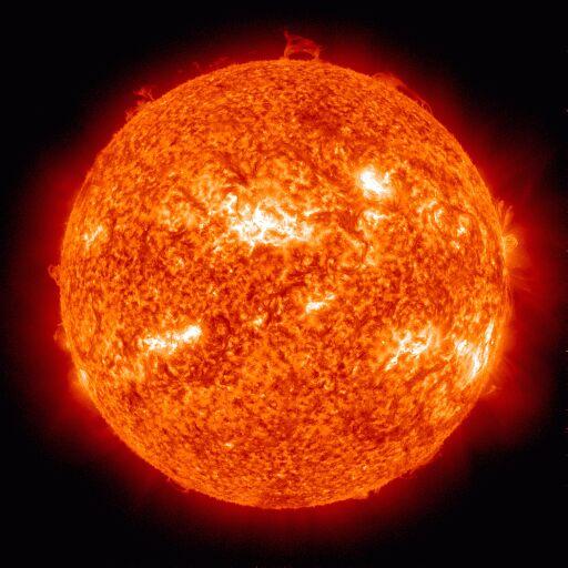 Фотография переходного слоя Солнца 11 апреля