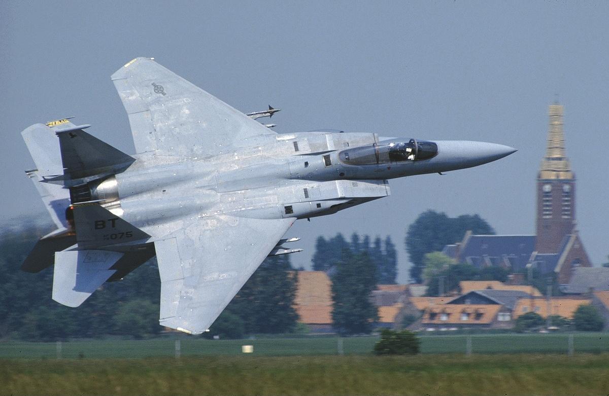 F-15 Eagle прошел не одно боевое крещение