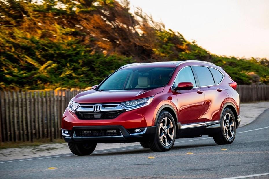 Лучший среднеразмерный кроссовер - Honda CR-V