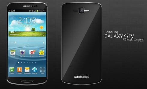 Samsung Galaxy S IV - концепт