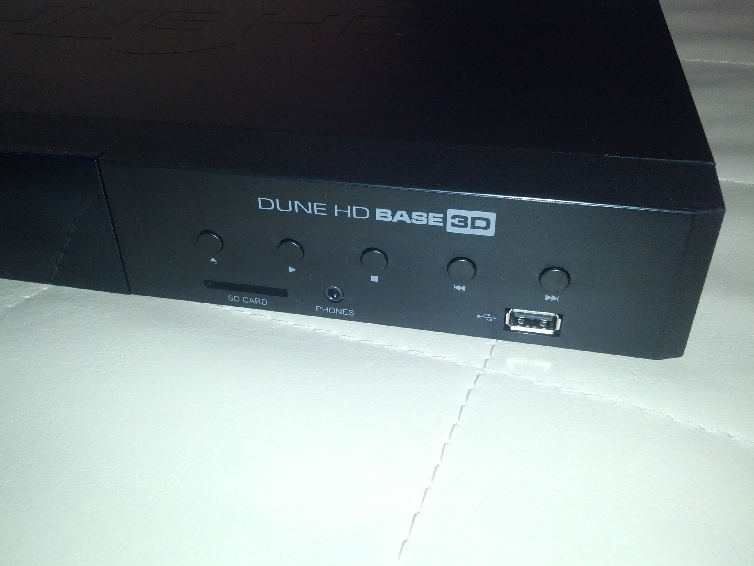 Dune HD Base 3D - механические кнопки