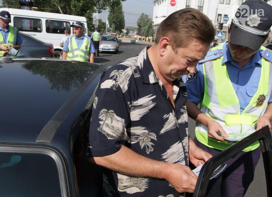 Гаишники проводили среди водителей разъяснительную работу