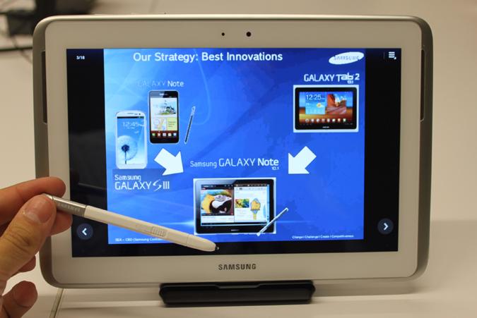 Samsung готовит планшет high-end класса