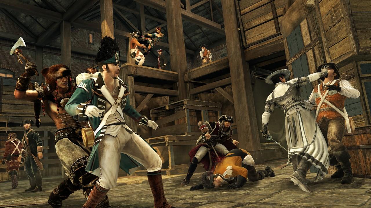 В Assassin's Creed 3 нам придется играть за двух героев