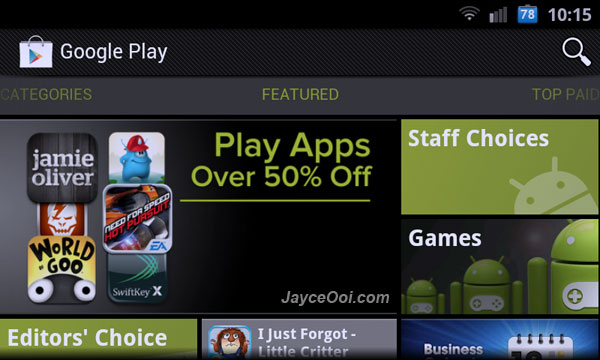 Play Store 3.10.10 Apk Free Download