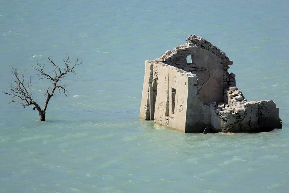 Из-за потопа 70% населения должны будут переселиться
