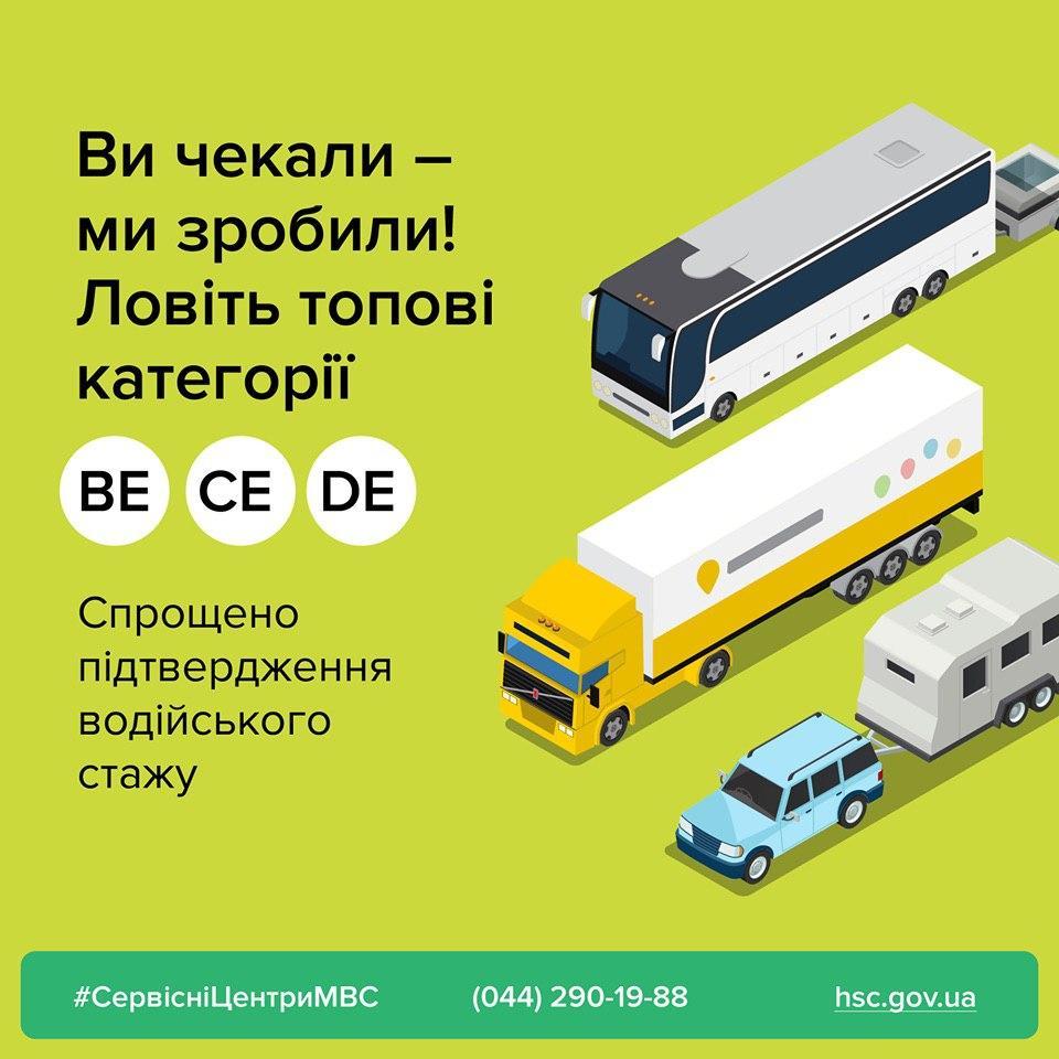 Подтвердить водительский стаж в Украине стало проще