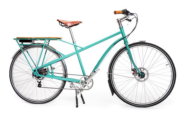 Папашин велосипед Kinn Cascade Flyer. На таком можно и сынишку в школу завезти, и продукты из магазина доставить. И все благодаря усиленной раме над задним колесом. Цена - $1950