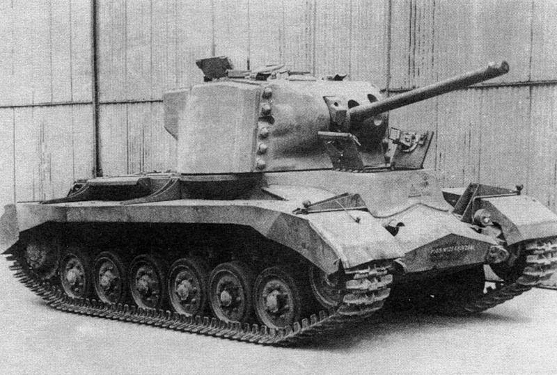 А-38 был страшно медленным, но хорошо бронированным танком