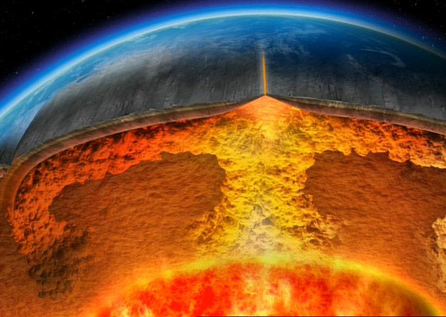 Супервулкан зарождается в Тихом океане