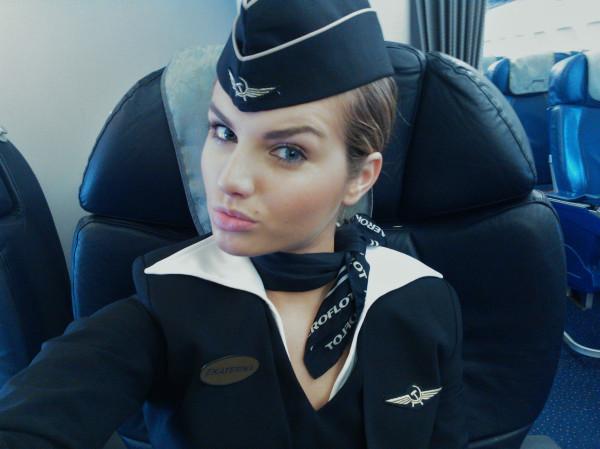 Стюардесса неосторожно высказалась о самолете