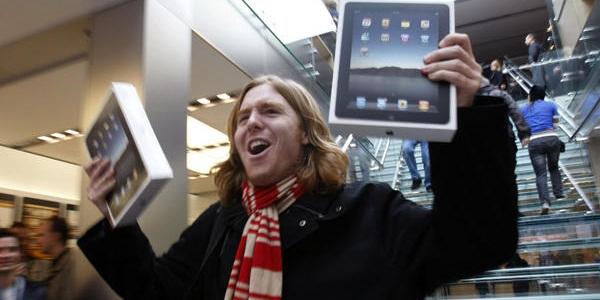2 ноября - вероятный старт продаж нового iPad
