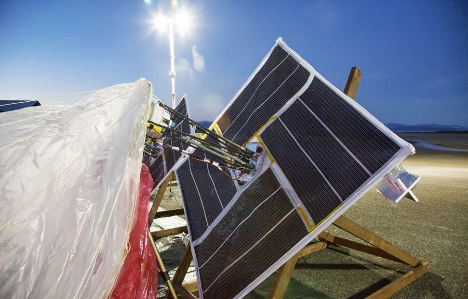 Датчики работают на солнечным батареях
