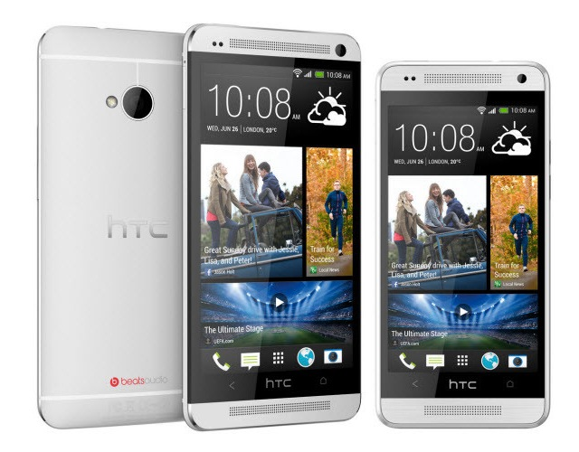 HTC One Max и HTC Zara