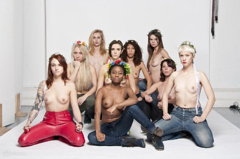 FEMEN запретили в Facebook