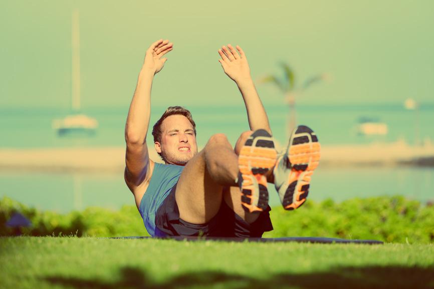 А ты уже знаешь, какими упражнениями можно быстро накачать пресс?