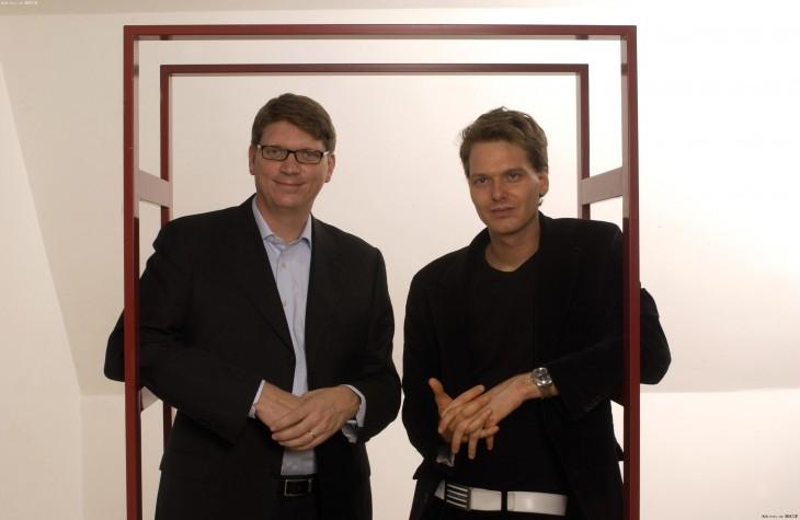 Основатели Skype — Никлас Зеннстром и Янус Фриис