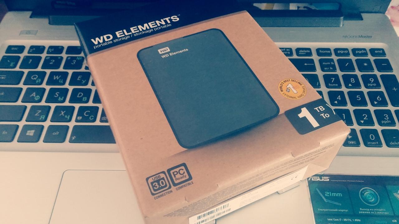 WD Elements 1 TB