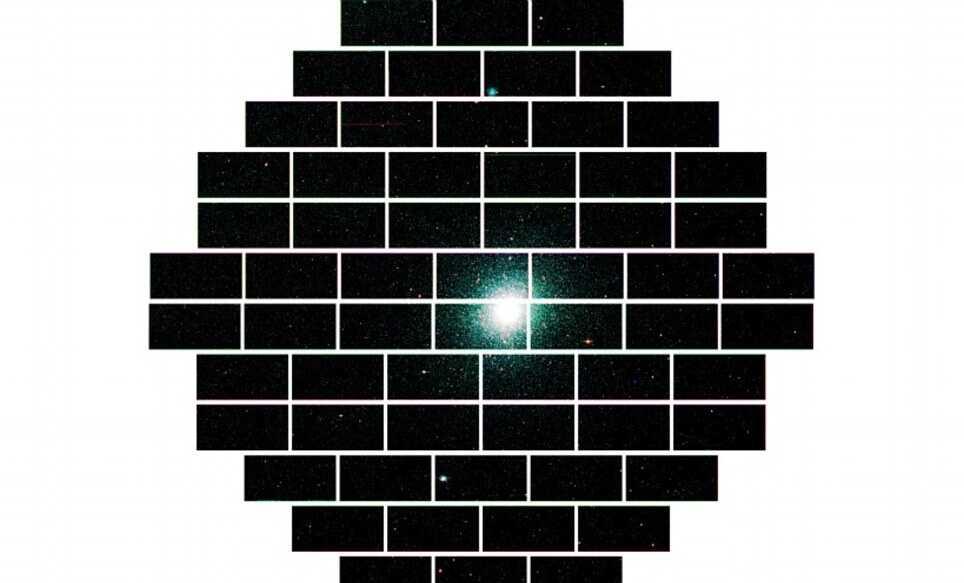 Снимки Dark Energy Camera