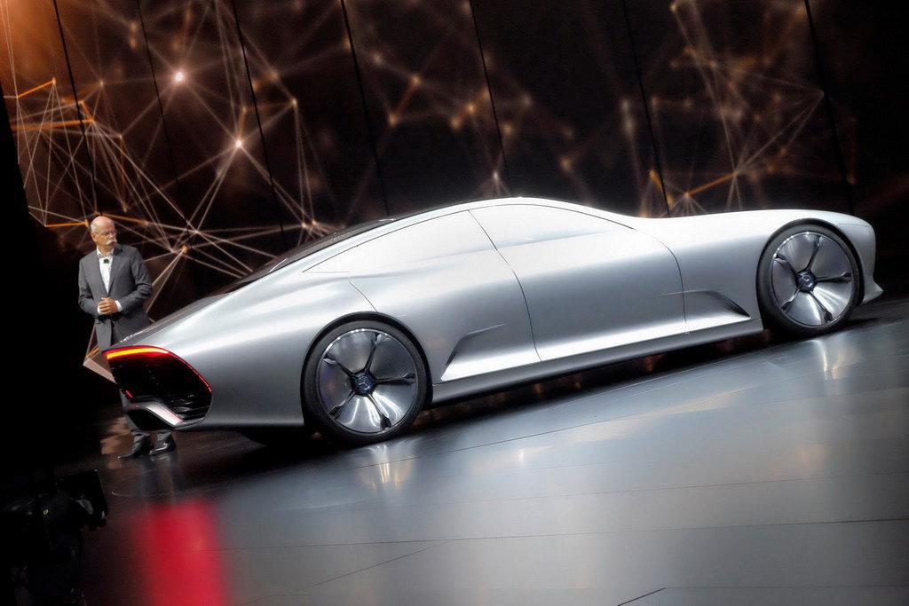 Concept IAA на Франкфуртском автосалоне присвоили звание «чемпиона по аэродинамике»