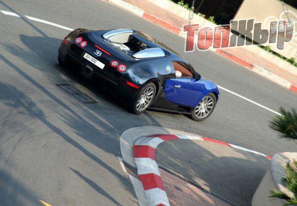 Донецкий Bugatti Veyron. Как оказалось, фотошоп.