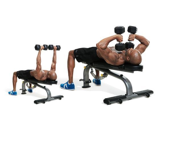 Упражнения на плечи дома без гантелей