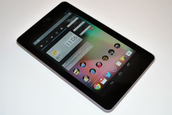 1-е место: Google Nexus 7