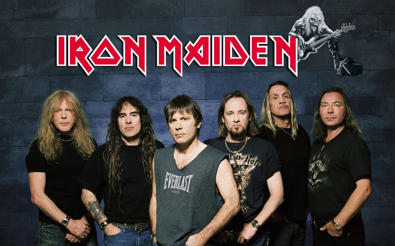 B>Iron Maiden HD Обои | Фоны - Wallpaper Abyss